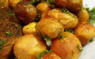 Блюда из вареного картофеля