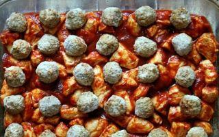 Как приготовить в духовке тефтели с картошкой