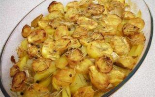 Рецепты приготовления картошки с кабачками