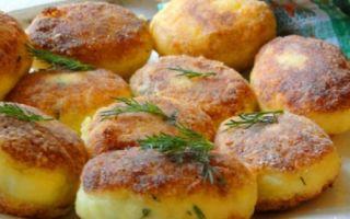 Котлеты из картофеля с начинкой
