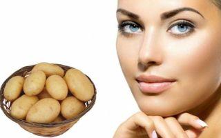 Как приготовить маску для лица из картофеля