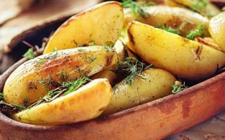 Как вкусно запечь картошку