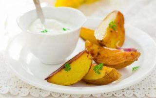 Готовим картофель дольками в духовке