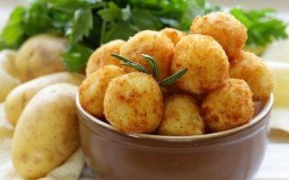 Как приготовить крокеты из картофеля
