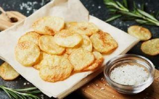 Как приготовить чипсы в духовке без масла