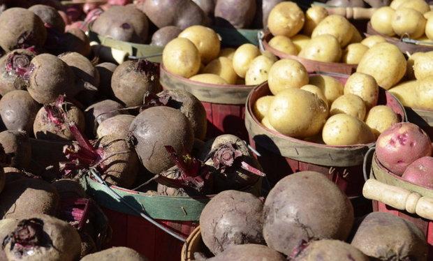 свекла и картошка