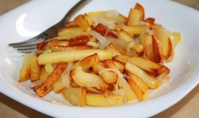 жареная картошечка