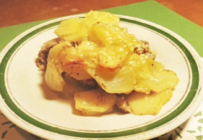 по фрацузски картошка с фаршем