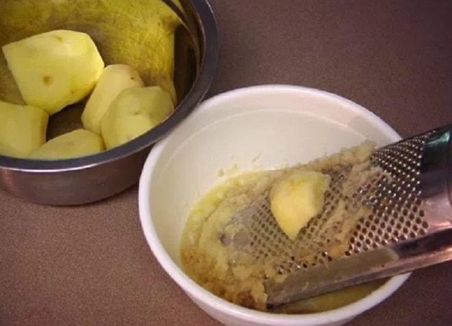 измельчаем картошку