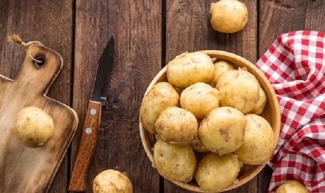 картофель темнеет после варки