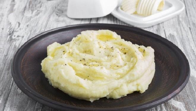 картофельное пюре по французски