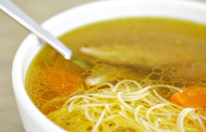 куриный прозрачный суп