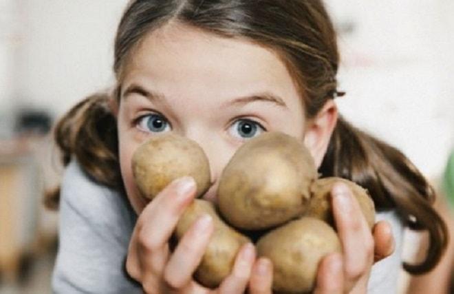 сок картофеля для кожи лица