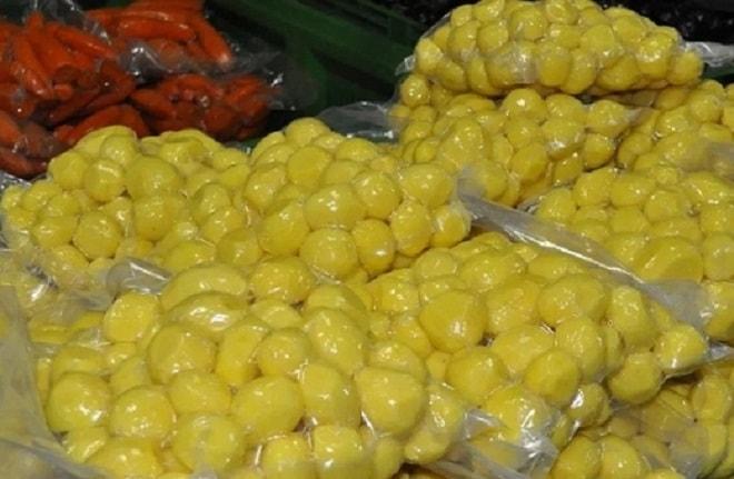 сульфицированный картофель