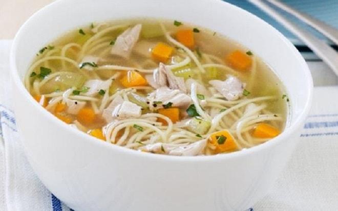 суп с вермишелью и картофелем