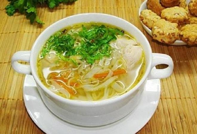 зеленый суп с картошкой