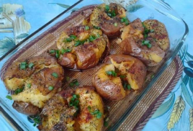 картофель в кожуре в майонезе