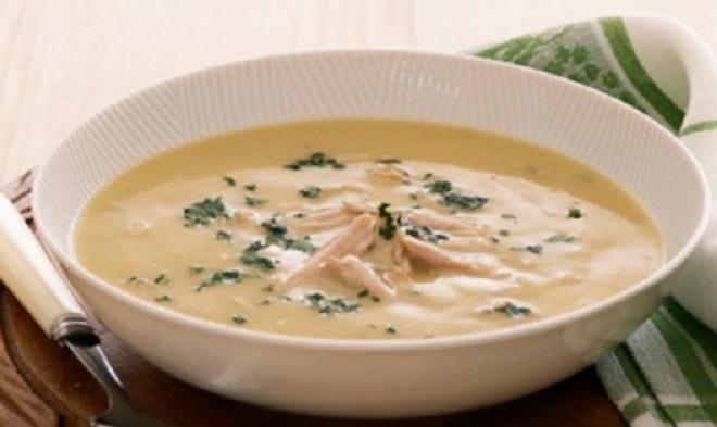 суп-пюре с курицей