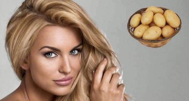 рецепты масок с картофелем