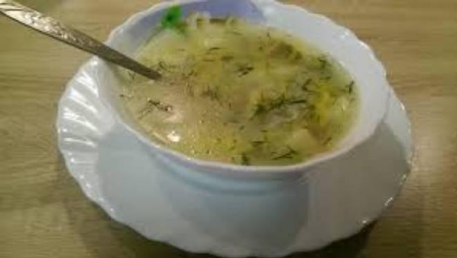 суп с рисом без картофеля
