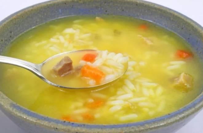 суп с рисом и картошкой детский