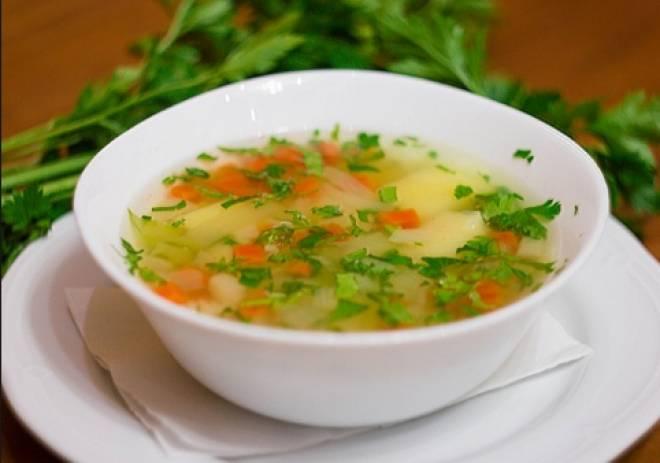 суп с рисом и картошкой для мужчин