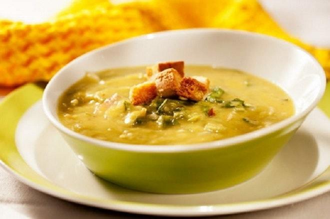 тарелка горохового супа