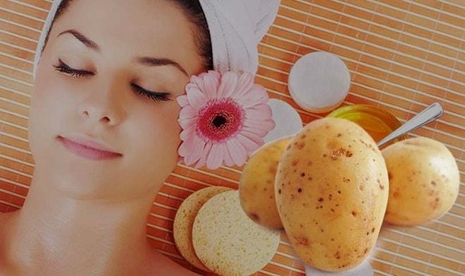 Польза картофельной маски