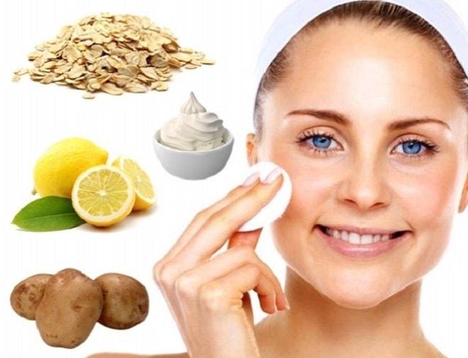картофельная маска для жирной кожи