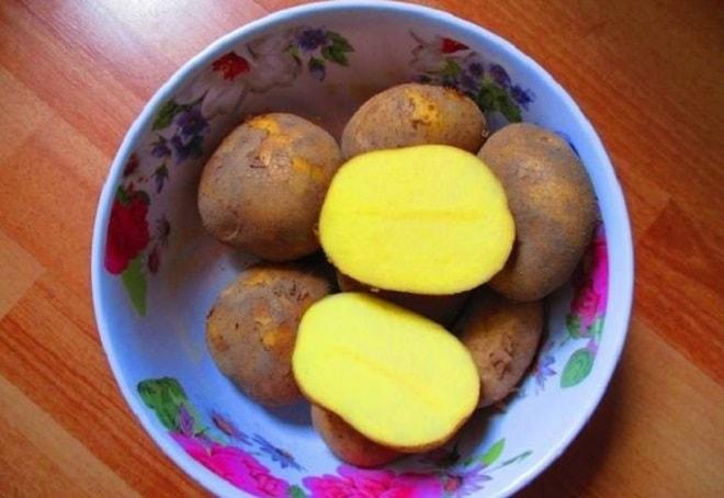 разрезанный картофель уладар
