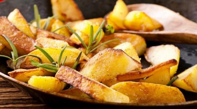 калории в жареной картошке